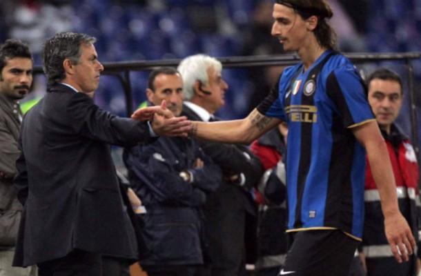 Ibrahimovic Mourinho Inter