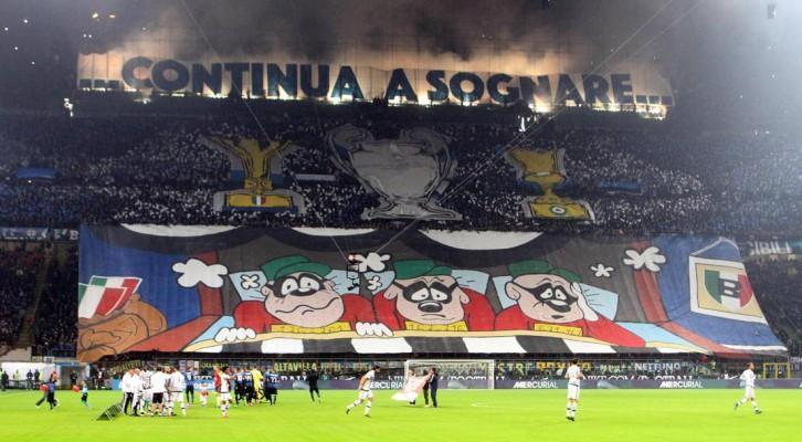 Coreografia Inter-Juventus