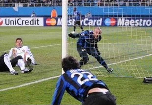 Milito Sneijder Dinamo Kiev-Inter
