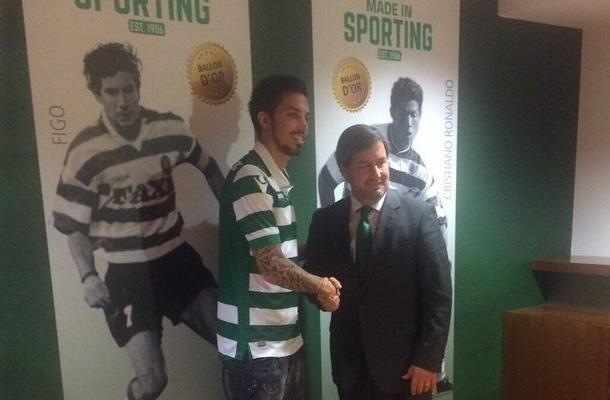 Ezequiel Schelotto Sporting CP