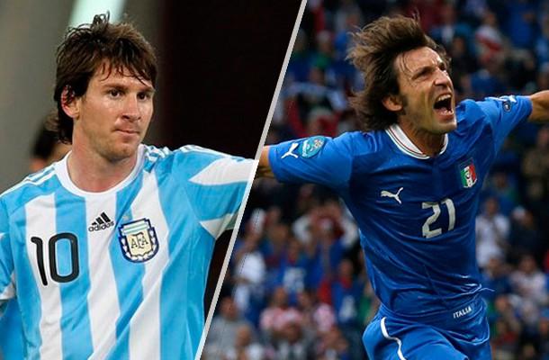 Messi Pirlo