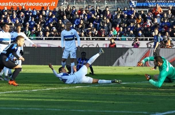 Autogol Murillo Atalanta-Inter