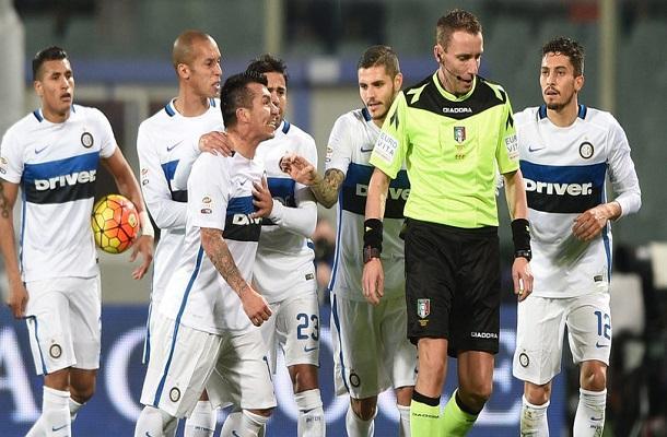 Fiorentina-Inter Mazzoleni
