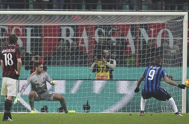 Milan-Inter rigore Icardi