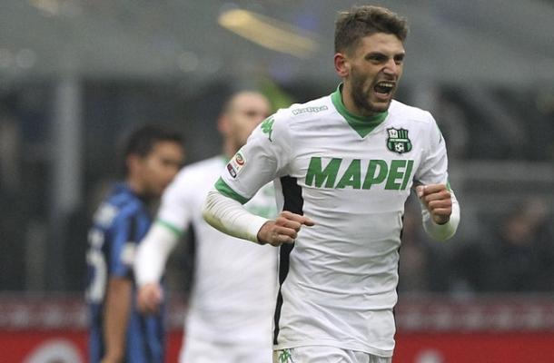 Domenico Berardi Inter-Sassuolo