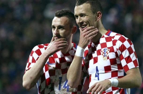 Marcelo Brozović Ivan Perišić Croazia