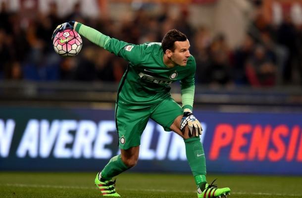 Samir Handanović Roma-Inter