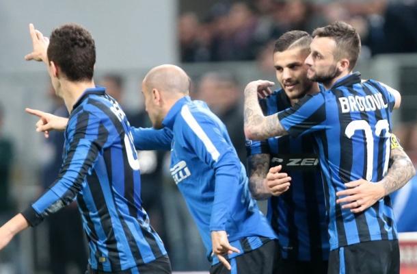 Icardi Brozović Inter-Napoli