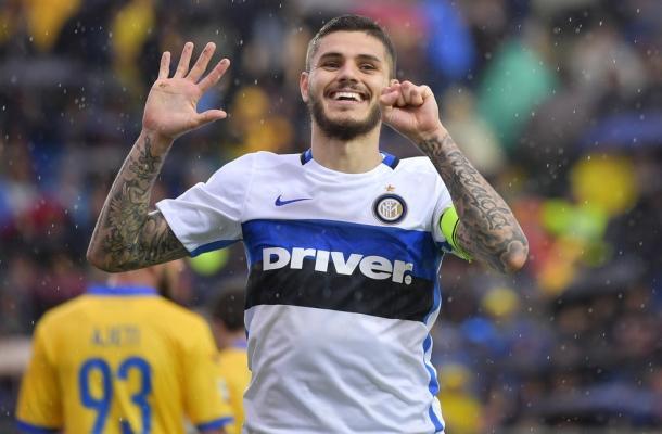 Mauro Icardi Frosinone-Inter