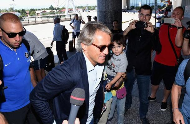 Roberto Mancini aeroporto
