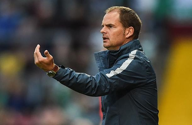 Frank de Boer Inter-Celtic