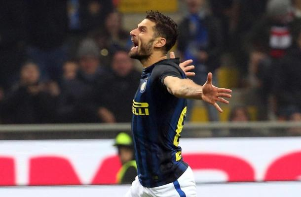 Antonio Candreva Milan-Inter