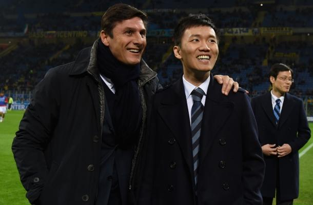 Javier Zanetti Zhang Steven