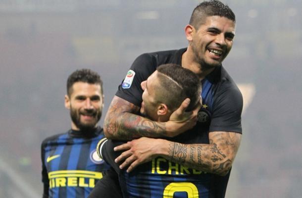 Banega Icardi Inter-Lazio
