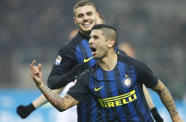 Banega Inter-Lazio