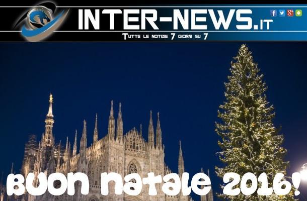 Auguri Di Buon Natale Inter.Buon Natale Da Inter News It Gli Auguri Ai Nostri Lettori Inter News