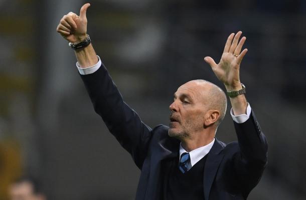Stefano Pioli Inter-Roma