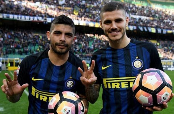 Icardi Banega Inter-Atalanta tripletta