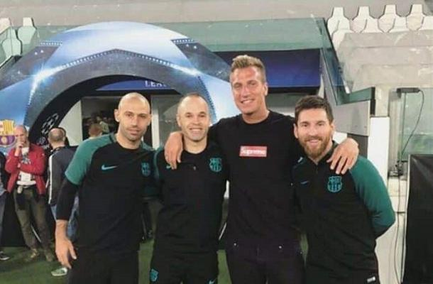 Maxi López Messi Mascherano Iniesta