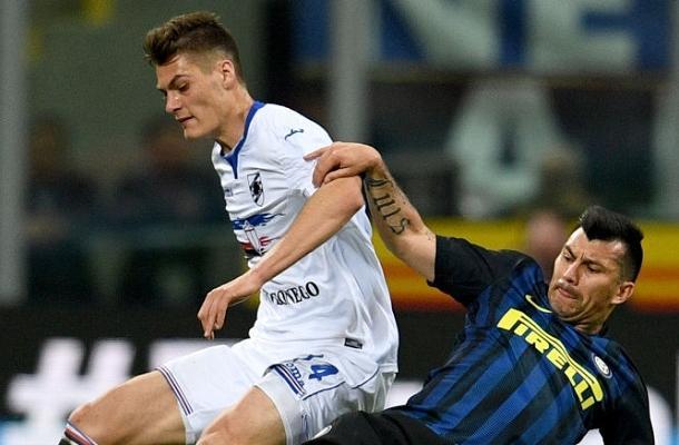 Medel Schick Inter-Sampdoria