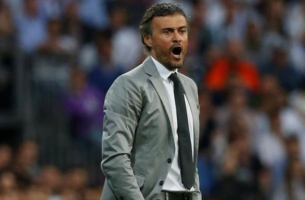 Luis Enrique Real Madrid-Barcellona