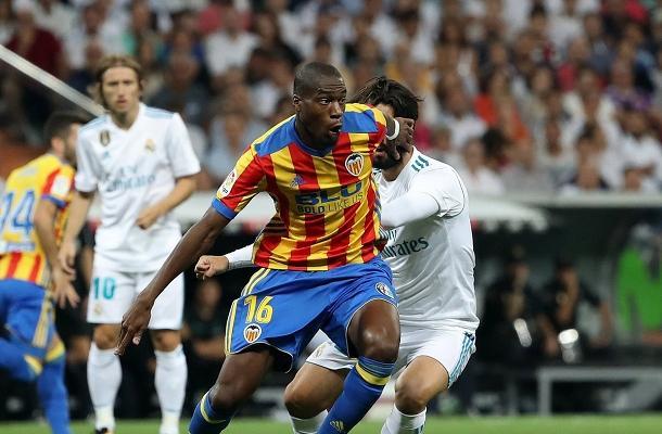 Geoffrey Kondogbia Real Madrid-Valencia