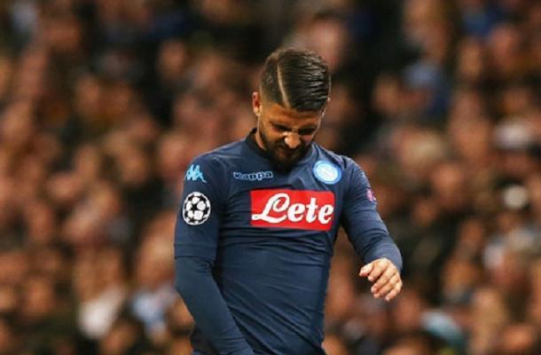 Lorenzo Insigne Manchester City-Napoli