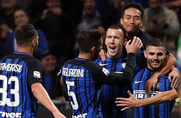 Perišić Icardi Nagatomo Inter-Sampdoria