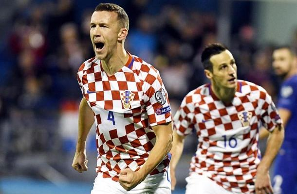 Ivan Perišić Croazia-Grecia