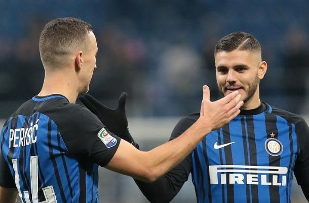 Icardi Perišić Inter-Chievo