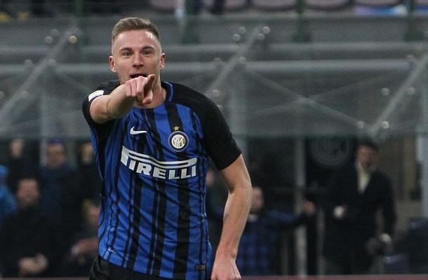 Milan Škriniar Inter-Chievo
