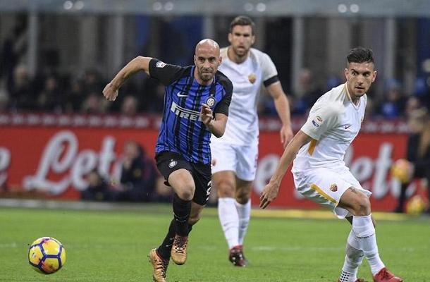 Borja Valero Inter-Roma