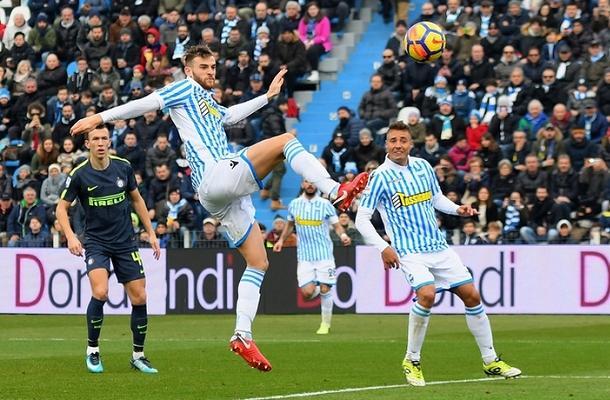 Francesco Vicari SPAL-Inter