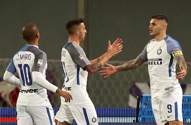 Icardi Vecino João Mário Fiorentina-Inter
