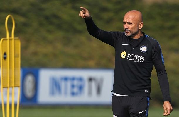 Luciano Spalletti allenamento Inter