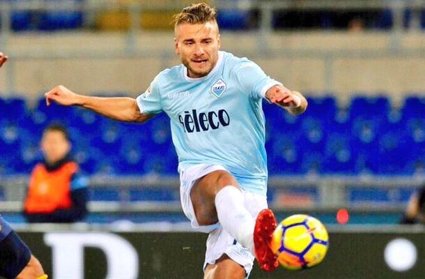 Ciro Immobile Lazio-Verona