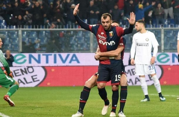 Goran Pandev Genoa-Inter