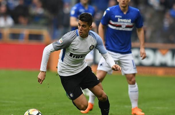 João Cancelo Sampdoria-Inter
