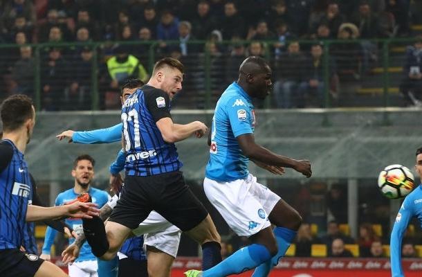 Milan Škriniar Inter-Napoli