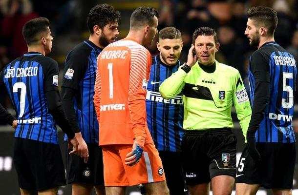 Gianluca Rocchi Inter-Lazio