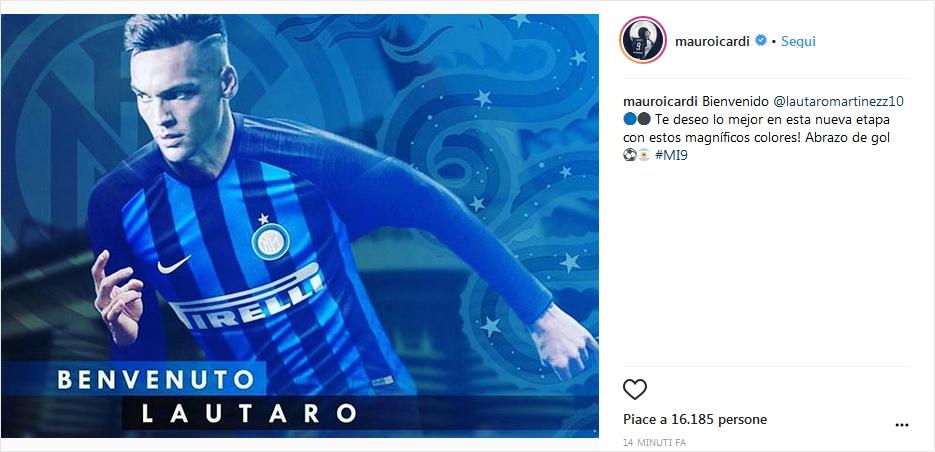 Icardi Lautaro Martínez Instagram