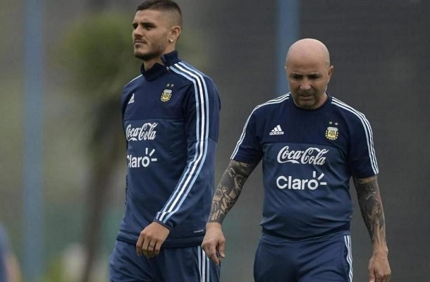 Icardi Sampaoli Argentina