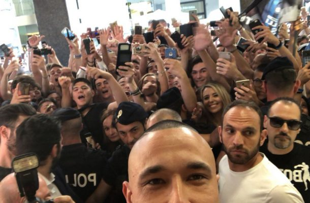 Nainggolan selfie Inter