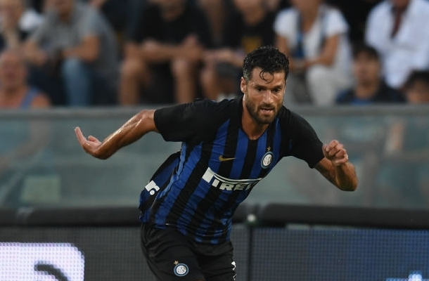 Antonio Candreva Inter-Zenit