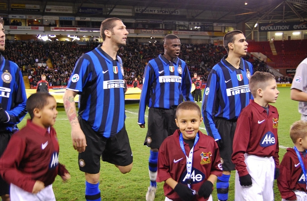 Balotelli Materazzi Sheffield FC-Inter