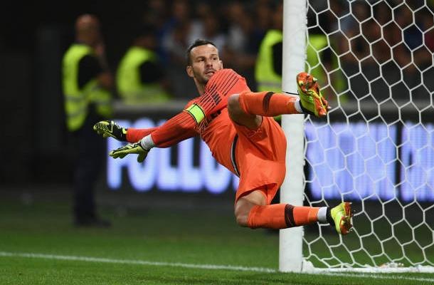 Samir Handanović Chelsea-Inter