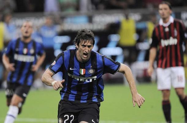 Diego Milito Milan-Inter