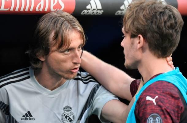 Luka Modrić Real Madrid-Milan