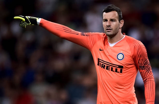 Samir Handanovic Inter-Torino