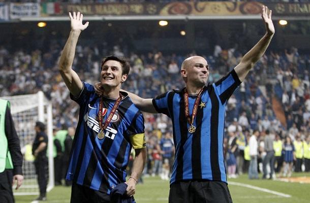 Zanetti Cambiasso Champions League